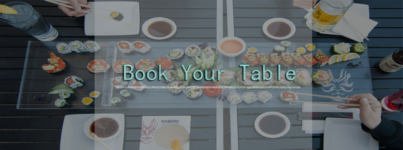 Book Your Table